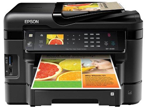 Epson WorkForce WF 3530 Wireless Color Printer