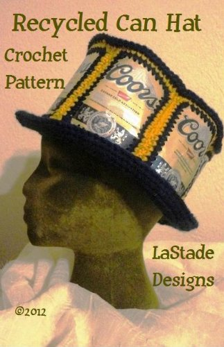 Beer Can Hat Soda Can Hat Crochet Pattern