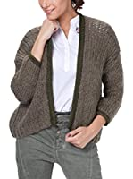 Tantra Chaqueta Punto Knitted with Lurex (Caqui)