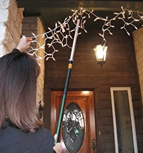 "Amazon.com : ""Big-Reach"" Pole Hook for Christmas Lighting ..."