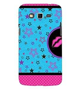 Multiple Star Design 3D Hard Polycarbonate Designer Back Case Cover for Samsung Galaxy Grand Neo :: Samsung Galaxy Grand Neo i9060