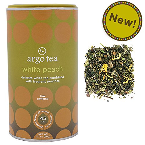 White Peach Loose Leaf Tea - 3.2Oz