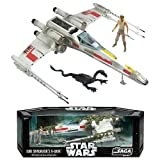 STAR WARS SAGA COLLECTION - LUKE SKYWALKER'S X-WING FIGHTER - THE EMPIRE STRIKES BACK - DAGOBAH SWAMP PLAYSET