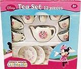 Disney Mickey Mouse Clubhouse: Minnie Mouse 13 Piece Tea Set