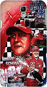 DailyObjects Michael Schumacher Case For Samsung Galaxy Note 3 Neo