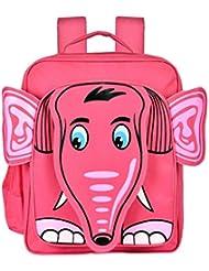 Blue Sky Polyester 15 Liters Pink School Backpack