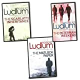 Robert Ludlum Robert Ludlum The Bourne Trilogy 3 Books Collection Pack Set New Legacy (The Bourne Trilogy)