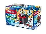 Vileda EasyWring UltraMat Komplett-Set, Bodenwischer und Eimer mit PowerSchleuder