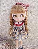 (ドーリア)Dollia ブライス 1/6ドール用 アウトフィット レトロレース ドレス ワンピース デザイン襟 ネオブライス ドール 人形