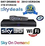 SKY+ HD/3D-DRX895W Digibox 2TB WIRELESS BUILT IN- ON DEMAND (2013 Version)