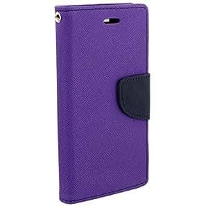 Kerbs fancy flip diary/case/cover for mercury for Lenovo K5+ Purple