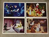 Disney Exclusive Limited Diamond Edition PETER PAN LITHOGRAPH SET of 4