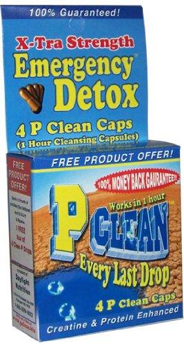 P-Clean Drug Test Detox Capsules Emergency Detox Flush Drug Test Detox Pills