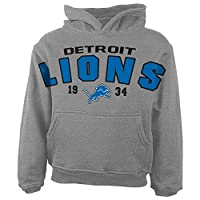 NFL Detroit Lions Toddler Over Sized Hoodie from Outerstuff/Adidas Licensed Youth Apparel