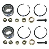 2x Wheel bearing kit SEAT CORDOBA, IBIZA MK2 3, INCA, TOLEDO MK1, VW CADDY MK2, CORRADO, GOLF MK2 3 4 , JETTA MK2, PASSAT 3A 35I, POLO CLASSIC+VARIANT 6K, VENTO, PLEASE NOTE WHETHER WHEEL BEARING IS SUITABLE FOR FRONT OR REAR AXLE