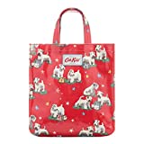 Cath Kidston Kids Oilcloth Book Bag / shopper in red - SMALL