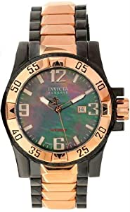 Invicta 11516 Mens Pro Diver Quartz Mother Of Pearl Dial Date Display Watch