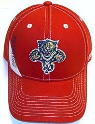 Florida Panthers Pro Shape Adjustable Velcro Strap Reebok Hat - NE52Z - Osfa