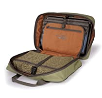 Fishpond Tomahawk Fly Tying Kit Case Mustard Bag New