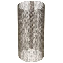 Asahi America Sediment Strainer Replacement Mesh Screen, Stainless Steel 316, For 2&#034; Strainer, 20 Mesh