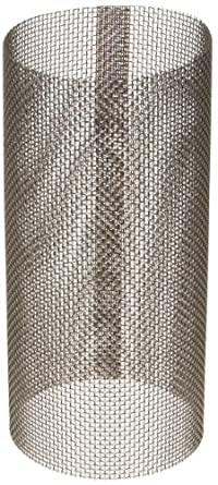 "Asahi America Sediment Strainer Replacement Mesh Screen, Stainless Steel 316, For 2"" Strainer, 20 Mesh"