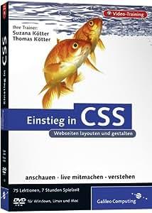 Einstieg in CSS - Das Video-Training auf DVD