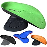 Medipaq Arch Aids - The No. 1 Foot Arch Support - 3/4 Length Orthotic Insole PAIR - Ladies Size - The Ultimate Insoles to Support Weak and Fallen Arches!
