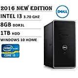 Dell Inspiron 3000 Series I3847 Flagship High Performance Desktop PC, Intel Core I3 Processor 3.7GHz, 8GB RAM,...