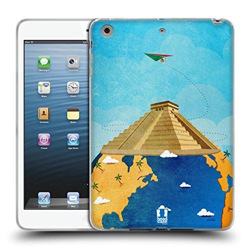 Head Case Designs チチェン・イッツァ 世界旅行 ソフトジェルケース Apple iPad mini 1 / 2 / 3