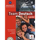 Team deutsch lyc�e seconde livre �l�ve (+ CD audio)par Elke Korner