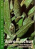 Adromischus: The Cactus File Handbook (0952830248) by Pilbeam, John