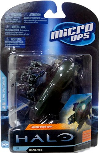 McFarlane Toys Halo Micro Ops Series 1: Banshee with 2 Elites