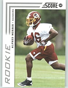 2012 Score ENCASED Football Card #386 Alfred Morris RC - Washington Redskins (RC -... by 2012 Score