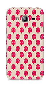 Amez designer printed 3d premium high quality back case cover for Samsung Galaxy J3 (2016 EDITION) (cute red popsicle)