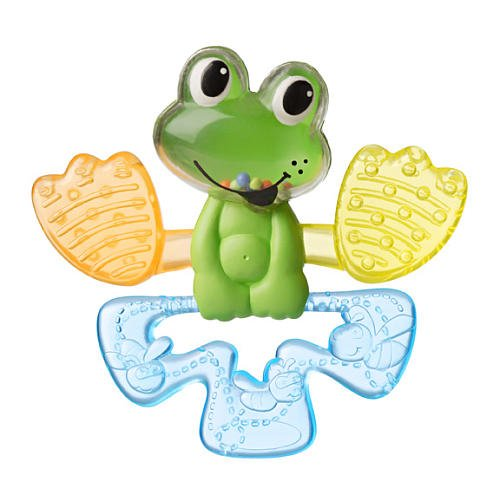 Infantino Chillin' Frog Water Teether - 1