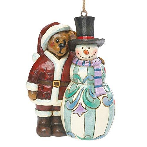 Boyds Bears by Jim Shore Hanging Christmas Ornament (Kringle & Mr. Frostybottom) 4041915
