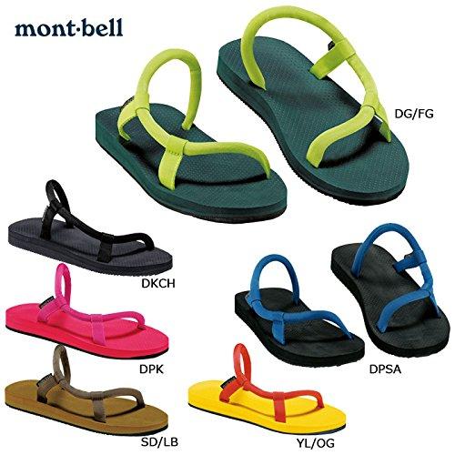 (モンベル)mont-bell mont-1129295 サンダル ソックオンサンダル/1129295 L YL/OG