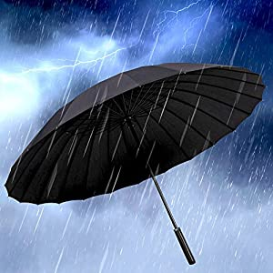 Auto Umbrella - Upscale and Elegant - Strong Waterproof, Windproof, Compact for Travel By Easy Carrying, Sturdy, High Grade, Durability Tested 10,000 Times
