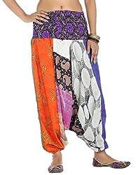 Rajrang Womens Harem Trousers (Trs01512 _Black _Large)