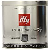 illy iperEspresso Capsules Dark Roasted Coffee, 5-Ounce, 21-Count Capsules ~ Illy