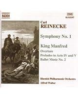 Reinecke: Symphony No. 1 / King Manfred