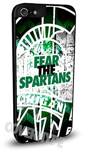 Michigan State Spartans Cell Phone Hard Plastic Case for iPhone 4/4s (Mobile Case Iphone 4s compare prices)