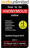 How to be Anonymous Online: A Step-By-Step Manual