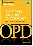 img - for Oxford Picture Dictionary High Beginning Workbook: Vocabulary reinforcement activity book with 4 audio CDs book / textbook / text book