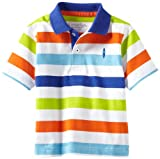 Kitestrings Boys 2-7 Toddler Yarn Dye Jersey Stripe Polo