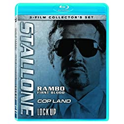 Stallone Collector's Set (Rambo: First Blood / Cop Land / Lock Up) [Blu-ray]