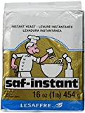 saf-instant Gold Instant Yeast, 1 Pound (Pack of 2)