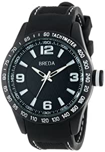 "Breda Men's 9307-black ""Justin"" Watch"