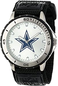 Game Time Men's NFL-VET-DAL Veteran Custom Dallas Cowboys Veteran Series Watch