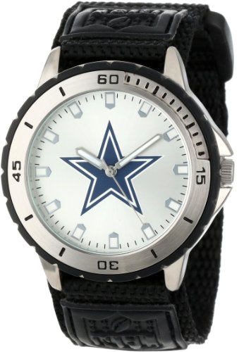 Game Time Men's NFL-VET-DAL Veteran Custom Dallas Cowboys Veteran Series Watch at Amazon.com